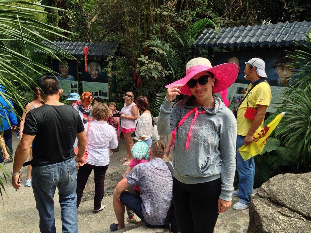 Центр Буддизма Наньшань. Экскурсия Хайнань. Путешествия  Хайнань Санья отдых и развлечения Море Китай истории из жизни