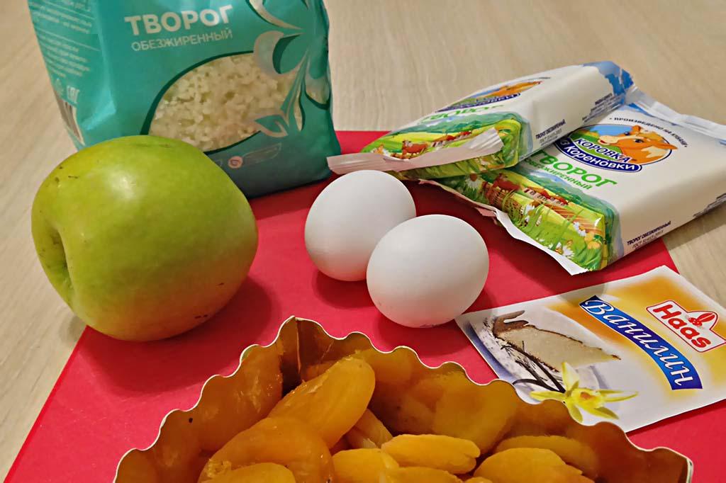 Творожная запеканка без муки и сахара - рецепты в мультиварке Рецепты  правильное питание мультиварка диета десерты выпечка вкусняшки блюда из творога