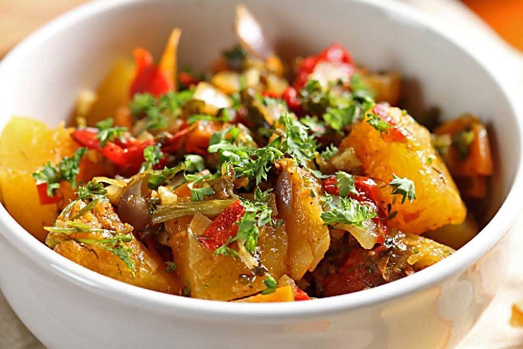 Овощное рагу с курицей без масла - рецепты в мультиварке ужин правильное питание мультиварка курица диета