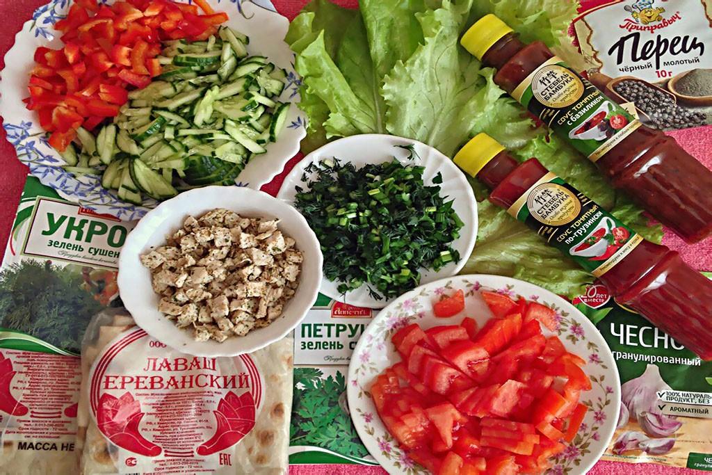 Вкусная и сочная шаурма в домашних условиях - простой рецепт шаурма правильное питание полезные советы диета вкусняшки