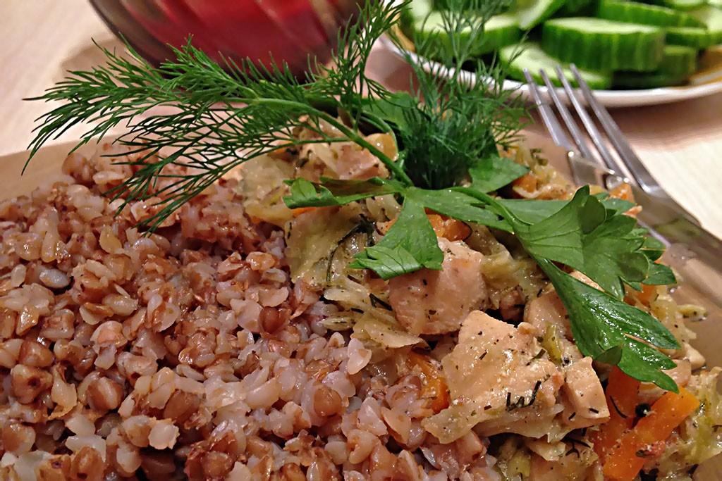 Как варить гречку - быстро и вкусно Рецепты  полезные советы каши завтрак диета гарниры