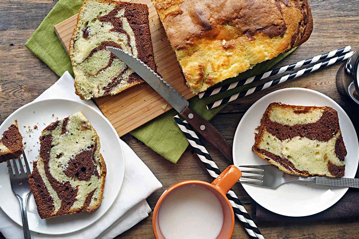"""Вкусный кекс """"Зебра"""" - рецепт в мультиварке мультиварка десерты выпечка вкусняшки"""