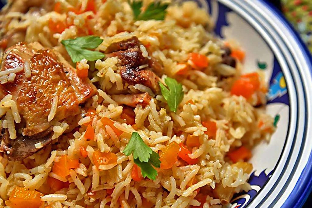 Как приготовить рассыпчатый плов в мультиварке Рецепты  ужин правильное питание мультиварка курица диета