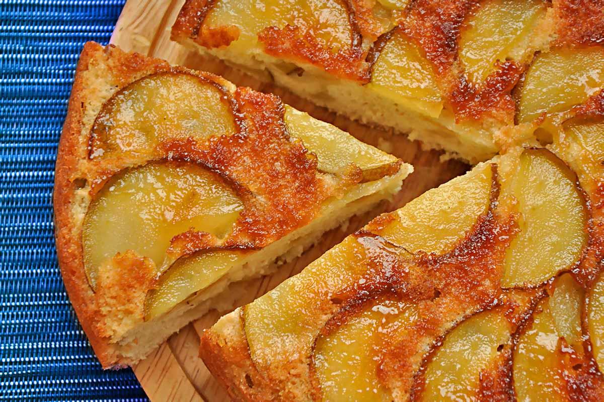 Заливной пирог с грушами в мультиварке мультиварка десерты выпечка вкусняшки