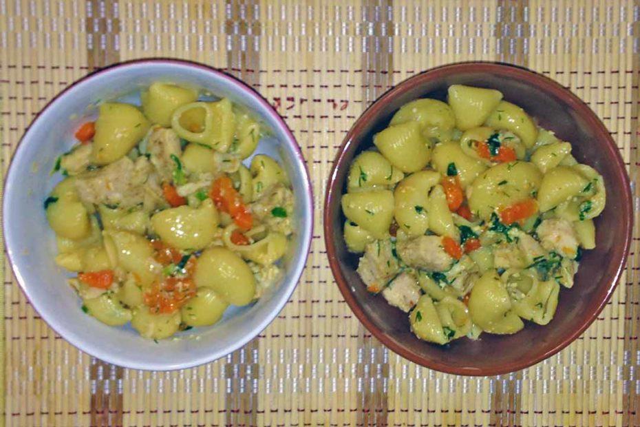 Макароны с курицей под соусом в мультиварке - простой рецепт ужин правильное питание мультиварка курица диета