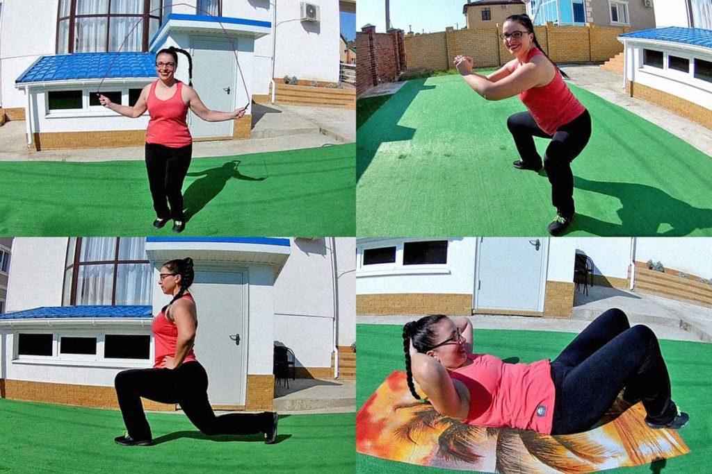 Простые и эффективные упражнения для похудения в домашних условиях полезные советы красота здоровье забота о теле диета
