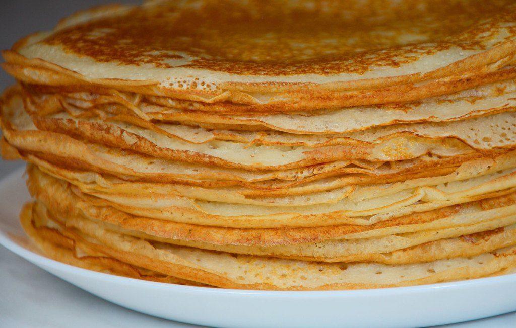 Как приготовить вкусные тонкие блинчики с начинками: на молоке, на кефире и на воде праздники полезные советы пасха оладьи десерты выпечка вкусняшки блины