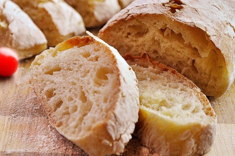 Хрустящая чиабатта – домашний хлеб с большими дырками полезные советы выпечка