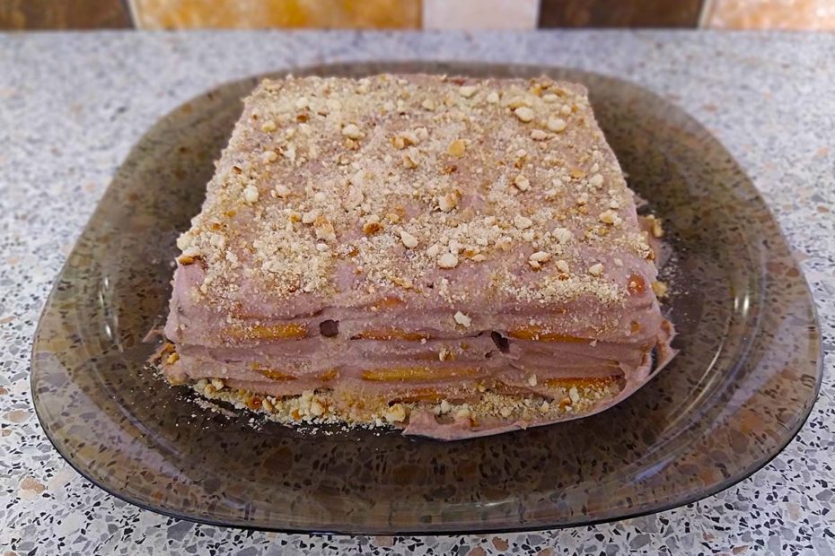 Домашний торт из печенья без выпечки – простой рецепт Рецепты  торты праздники полезные советы десерты вкусняшки