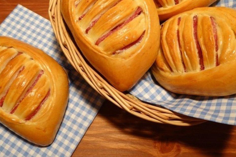 Вкусные дрожжевые булочки с ветчиной и сыром - простой рецепт полезные советы выпечка вкусняшки