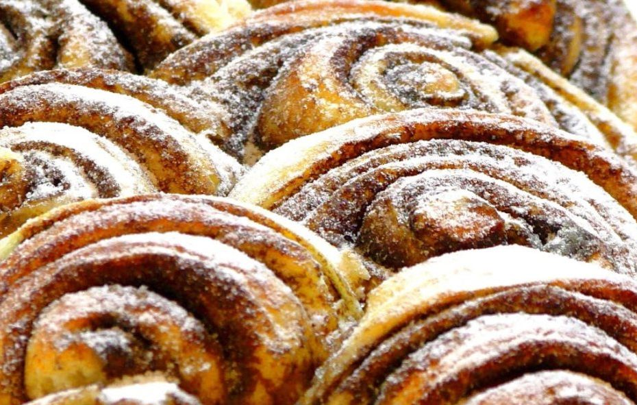 Булочки с корицей и сахаром - вкусная выпечка полезные советы выпечка вкусняшки