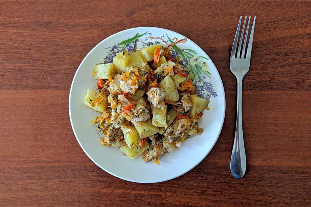Нежное куриное филе с картофелем в пароварке – вкусный пп-рецепт с фото правильное питание пп-пецепты пп полезные советы пароварка курица