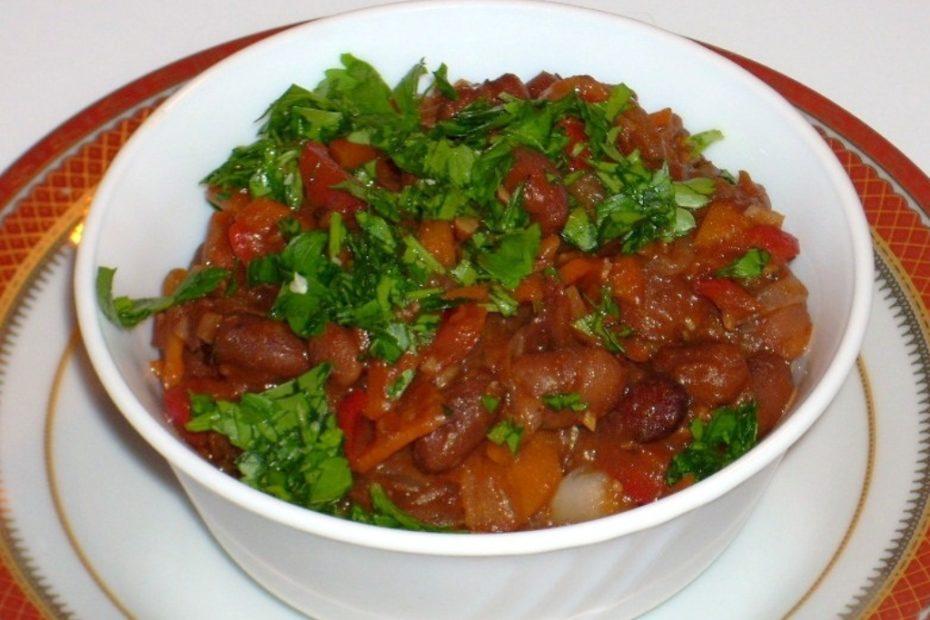 Рецепт лобио - колоритная грузинская кухня, вкусно и сытно ужин полезные советы гарниры