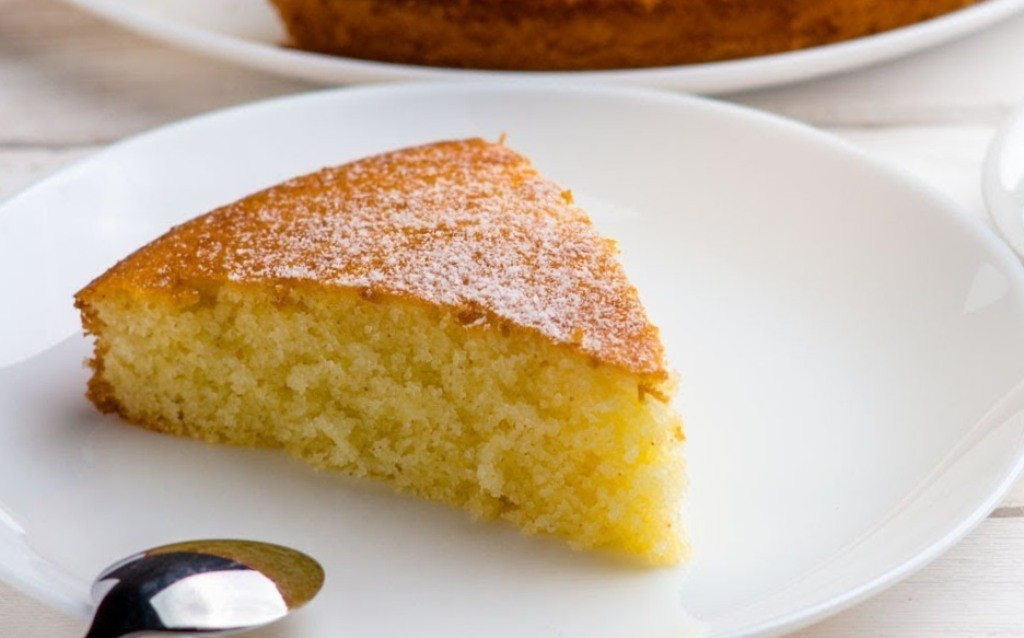 пирога воздушное манник рецепт без молочных продуктов с фото бисквит мультиварке