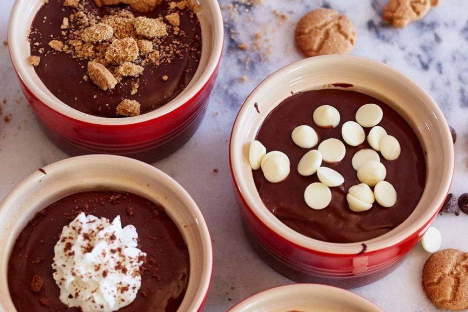 Легкий шоколадный пудинг - рецепт вкусного десерта полезные советы десерты вкусняшки