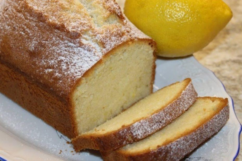 Домашний лимонный пирог на скорую руку - простой рецепт полезные советы пирог десерты выпечка вкусняшки