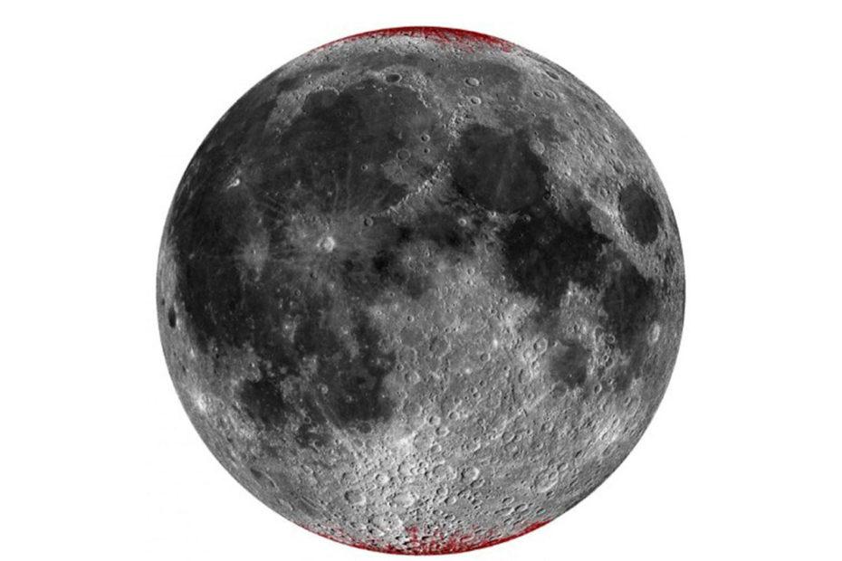 Луна ржавеет вдоль полюсов, это запечатлел спутник индийской организации космических исследований Чандраян-1 Минутка науки