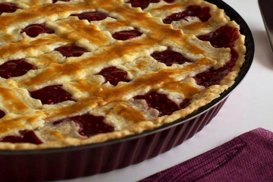 Песочный пирог с черешней - домашний рецепт выпечки полезные советы выпечка вкусняшки
