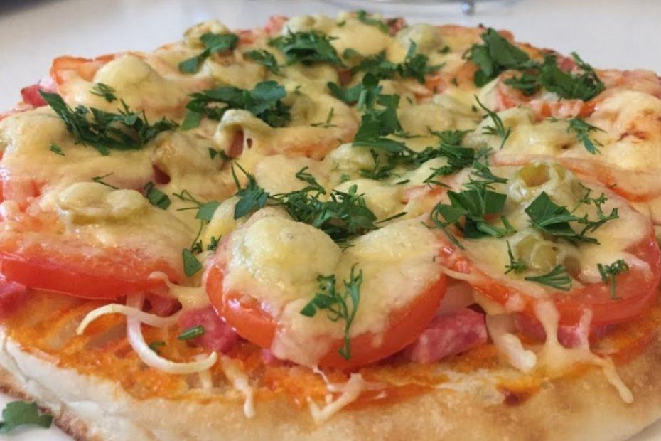 Сочная домашняя пицца на лаваше за 30 минут – необычный рецепт полезные советы выпечка вкусняшки