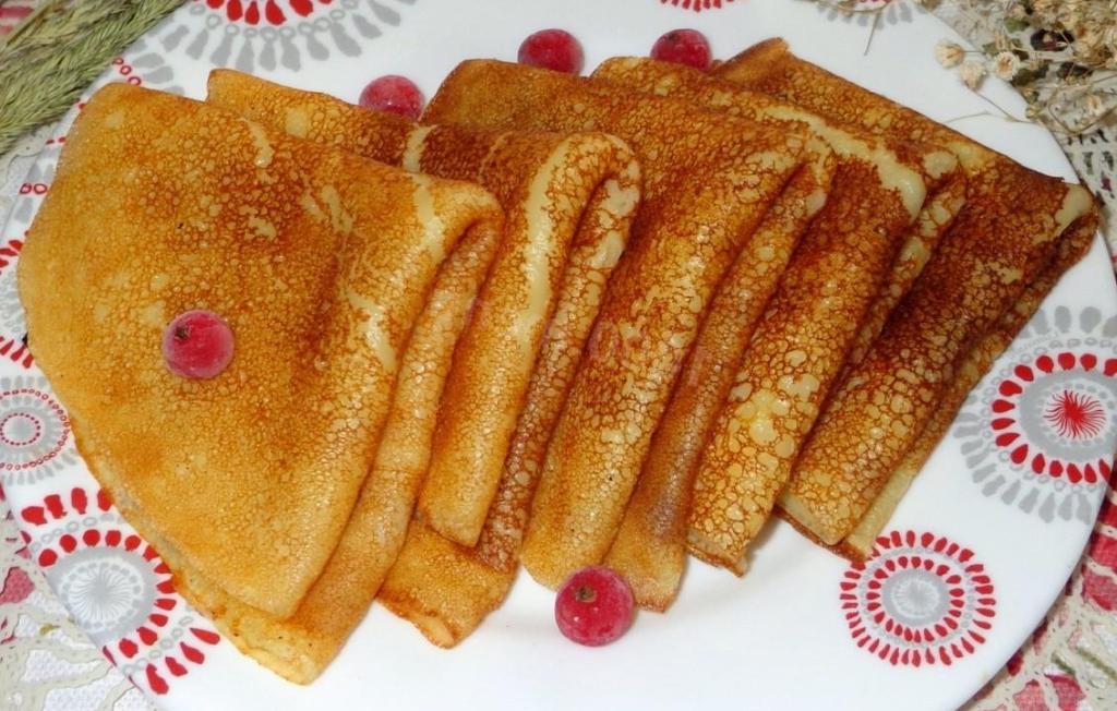 Вкусные блины из кислого молока – простой рецепт праздники полезные советы оладьи вкусняшки блины