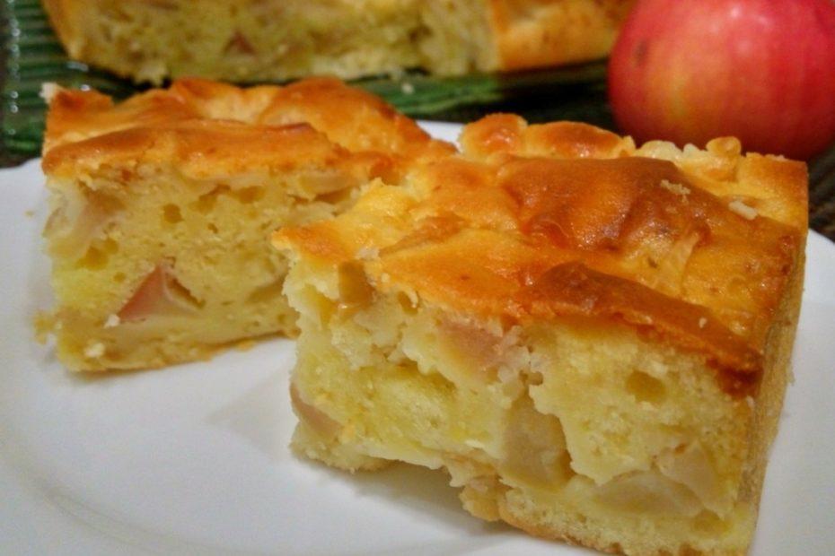 Нежный яблочный пирог на молоке - пошаговый рецепт полезные советы выпечка вкусняшки