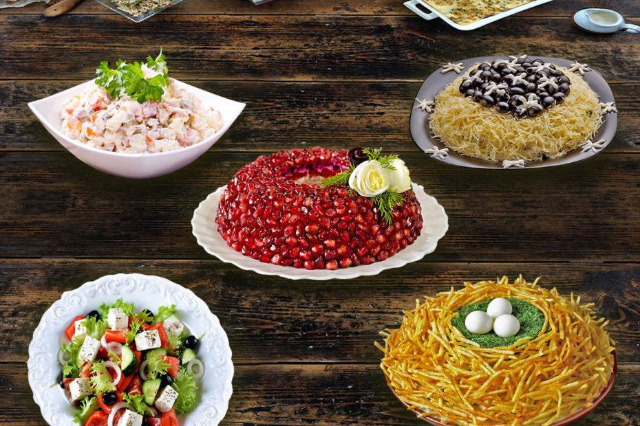 Вкусные праздничные салаты – на Новый год, День рождения и другие важные события Рецепты  топ и подборки салаты праздники курица