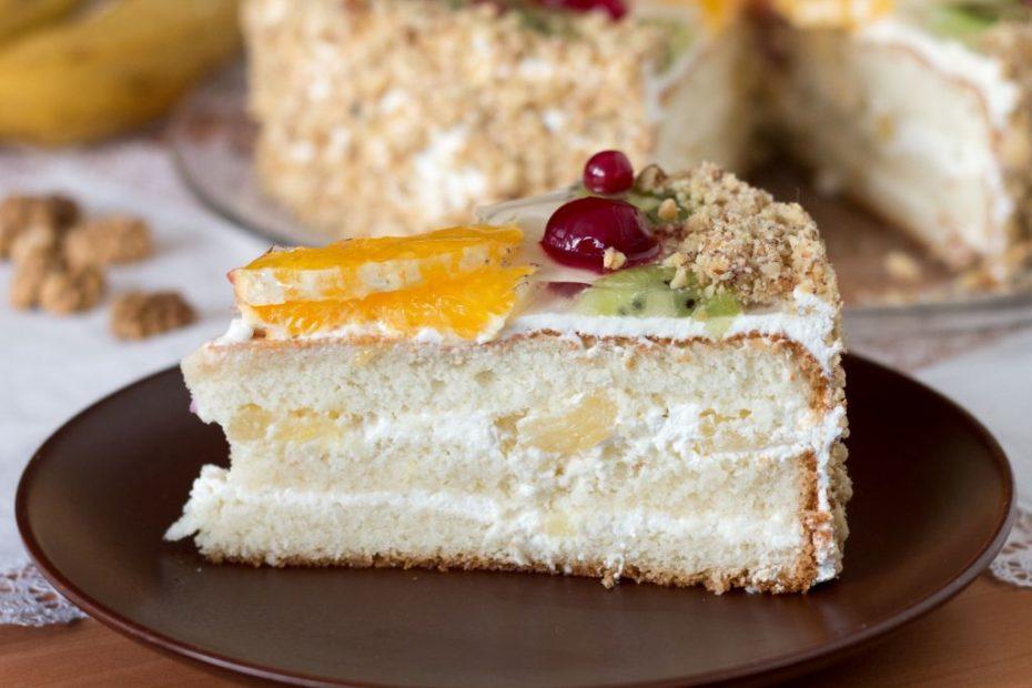 Вкуснейший сметанный торт – домашний простой рецепт торты полезные советы десерты выпечка вкусняшки бисквит