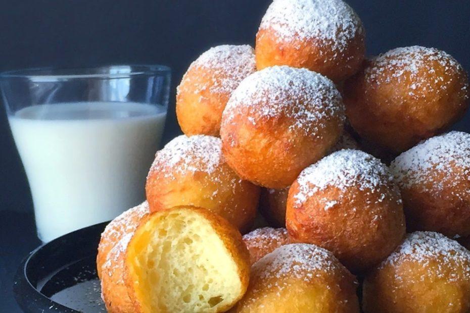Творожные пончики в сахарной пудре за 30 минут полезные советы выпечка вкусняшки блюда из творога