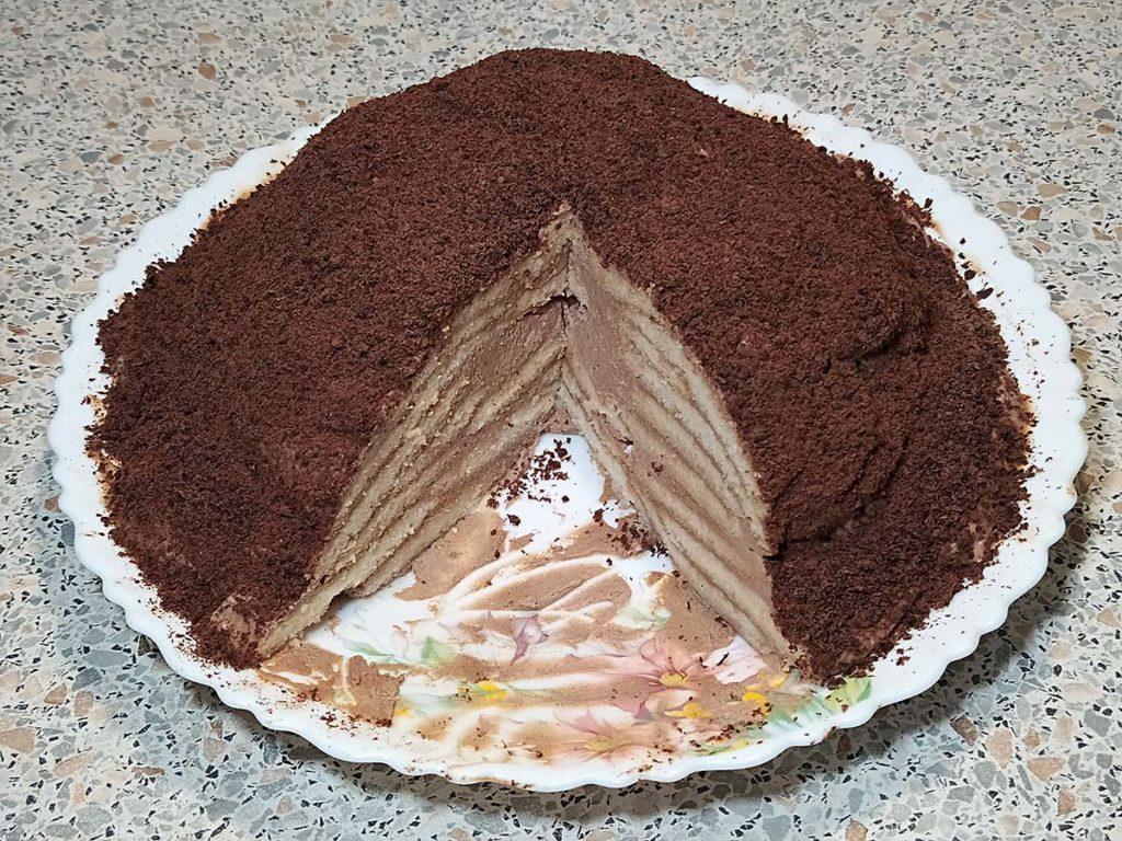 Домашний торт Черепаха – необычный рецепт без масла торты полезные советы десерты выпечка вкусняшки