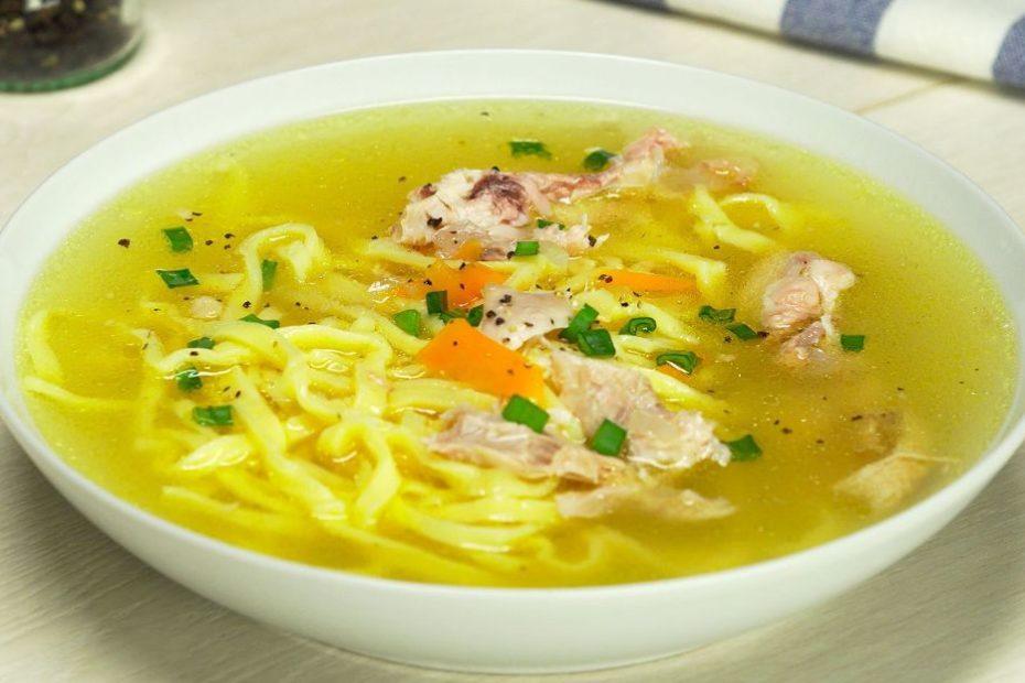 Простой и вкусный куриный суп с вермишелью по-домашнему супы правильное питание пп-пецепты пп полезные советы