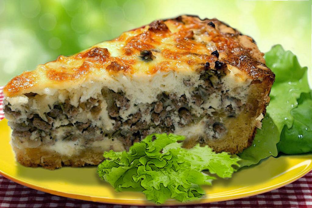 Нежный заливной пирог на сметане – простой рецепт в духовке Рецепты  ужин рецепт пирога полезные советы пирог заливной пирог